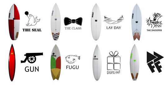 crab surfboards